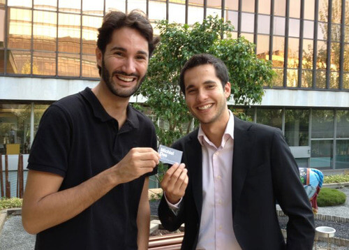 Diego Guillen y David Lopez Granados - El Viaje de mi Tarjeta