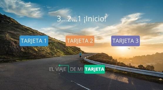 El Viaje de mi Tarjeta - 3 tarjetas