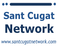 Logo Sant Cugat Network - Michiel Das