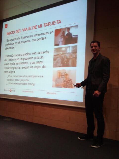 Michiel Das - Conferencia Barcelona Activa - El Viaje de mi Tarjeta