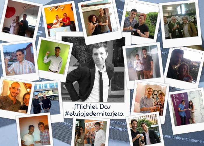 Deelnemers El Viaje de mi Tarjeta - Michiel Das