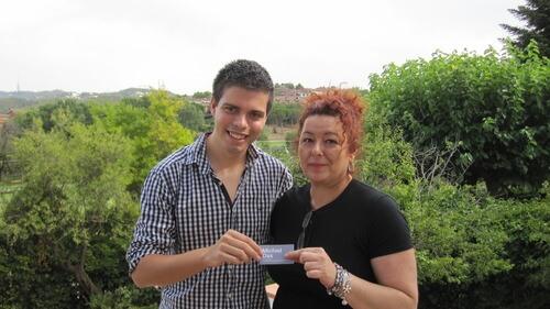 Pau Garcia Mila y Elena - El Viaje de mi Tarjeta